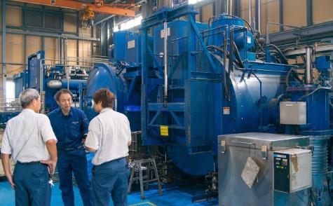 材料や製品に合わせた最適な熱処理の提案