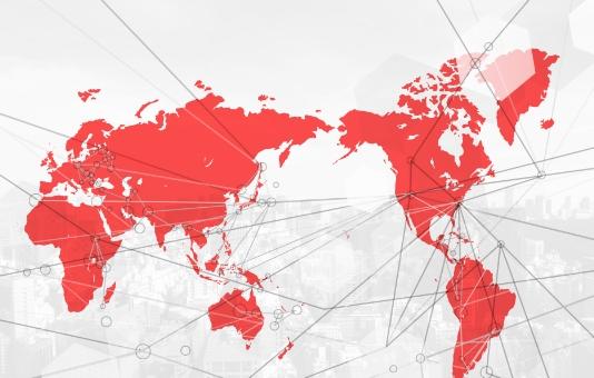 グローバルな取引ネットワーク